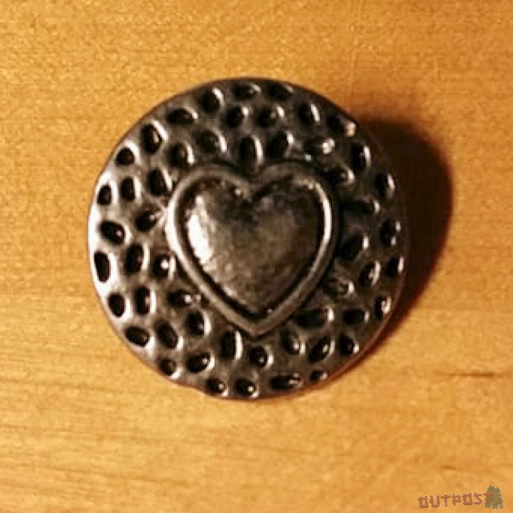 Button - Heart